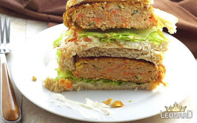 طرز تهیه برگر تن ماهی