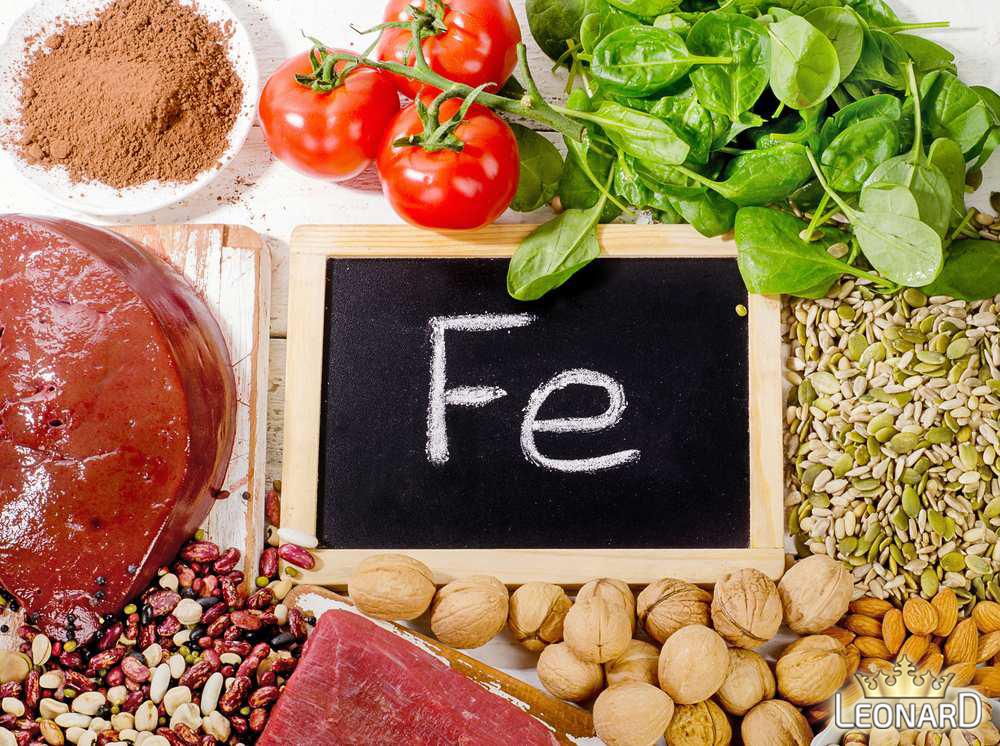جلوگیری و درمان کم خونی با مواد غذایی