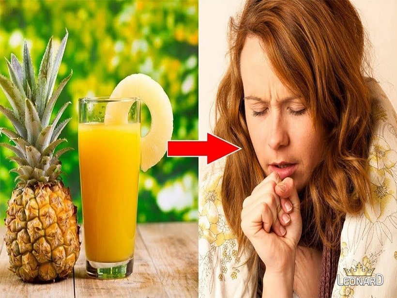 درمان سرفه با آب آناناس