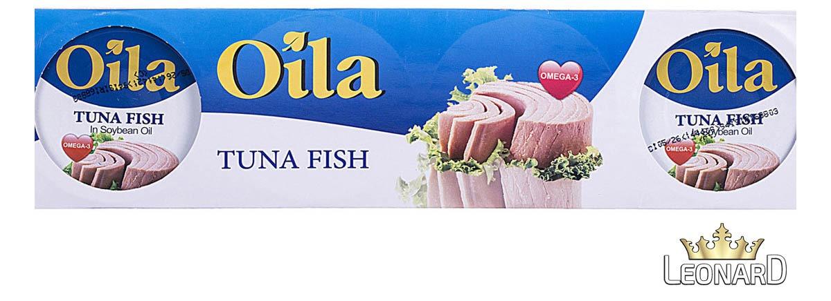 تن ماهی اویلا