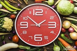 ساعات مناسب صرف وعده های غذایی