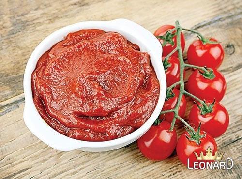 رب گوجه فرنگی تهیه شده از گوجه مرغوب و سالم