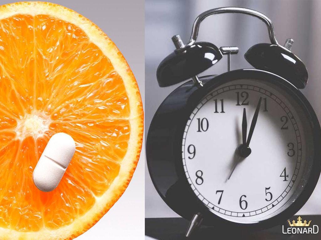 زمان مصرف قرص ویتامین ث