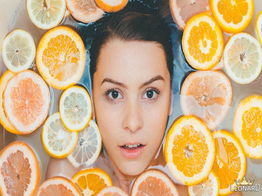 تأثیر ویتامین C برای پوست