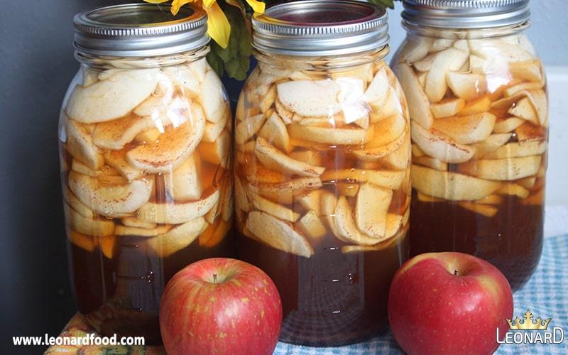 طرز تهیه کمپوت سیب خانگی