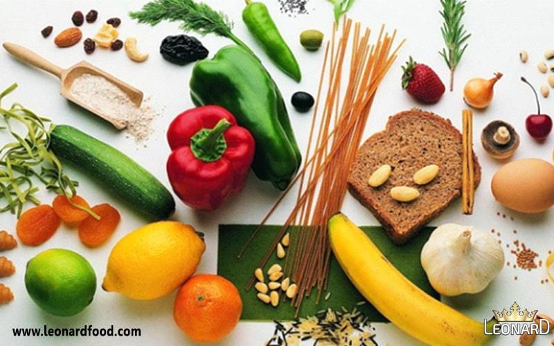 مواد غذایی و غذاهایی طبع سرد