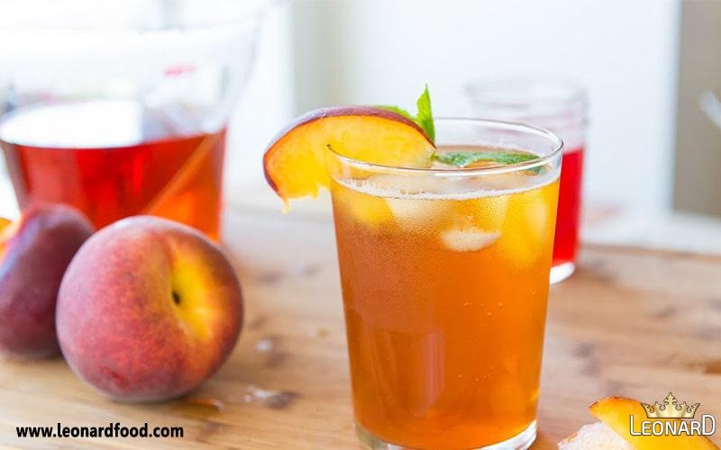 طرز تهیه نوشیدنی هلو (رانی هلو) | دستور تهیه اسموتی هلو خانگی