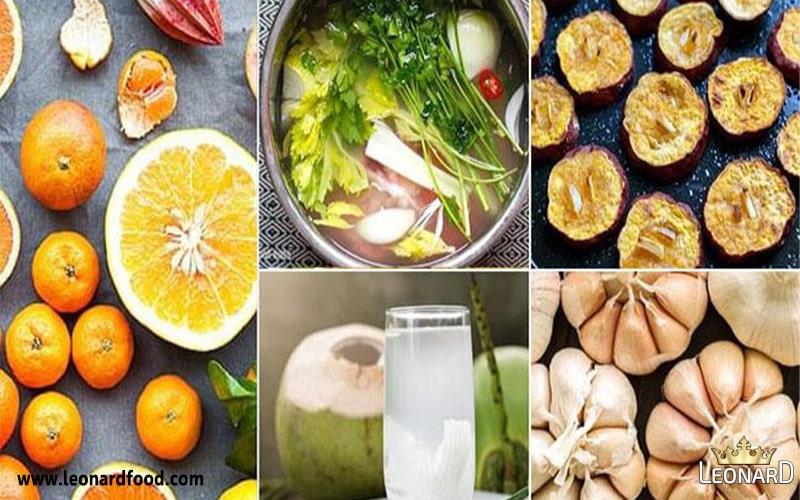 مواد غذایی مفید برای درمان ویروس آنفولانزا